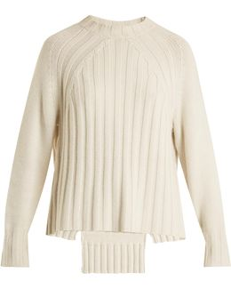 Everly Ribbed-knit Cashmere Sweater