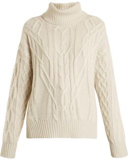 Cecil Roll-neck Cashmere Sweater