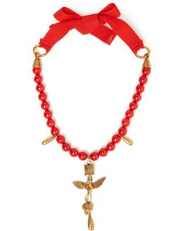 Bead-embellished Necklace