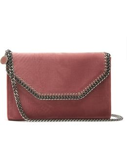 Falabella Mini Velvet Cross-body Bag