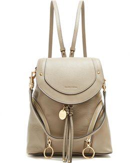 Olga Medium Grained-leather Backpack