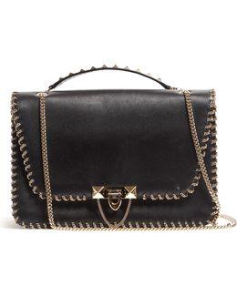 Demilune Leather Bag