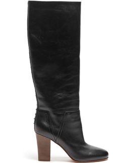Lovestud Rockstud Leather Boots