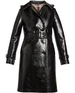 Michaela Double-breasted Trench Coat