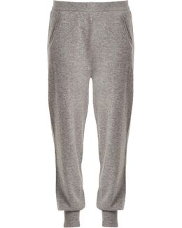 Mid-rise Cashmere Track Pants