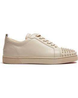 Louis Junior Low-top Leather Trainers