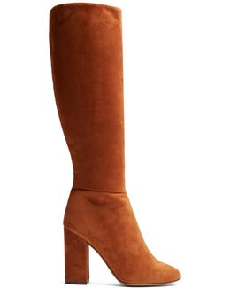 Sophie Knee-high Suede Boots