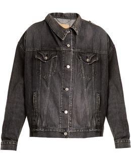 Pulled Denim Jacket