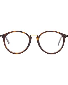 Twig Round-frame Acetate Glasses