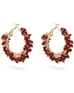Carmen Bead-embellished Earrings