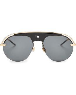 Evolution Aviator Sunglasses