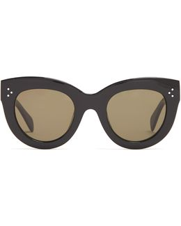 Caty Cat-eye Acetate Sunglasses