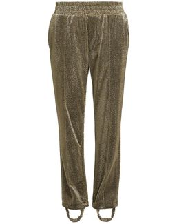 Dele Straight-leg Stirrup-hem Track Pants