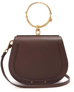 Nile Medium Leather Cross-body Bag