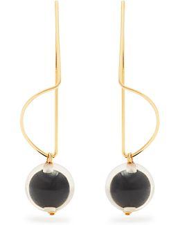 Earrings With Sphere