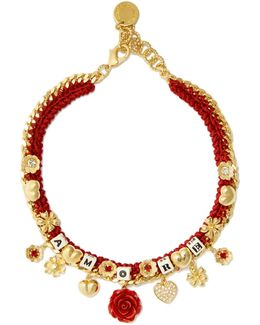 Amore-embellished Necklace