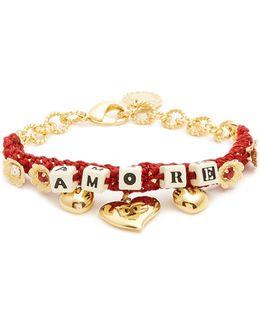 Amore-embellished Bracelet