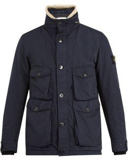 David-tc Shearling-collar Jacket