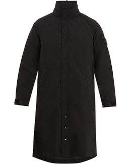 Layered Technical-cotton Parka