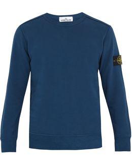 Long-sleeved Cotton Sweatshirt