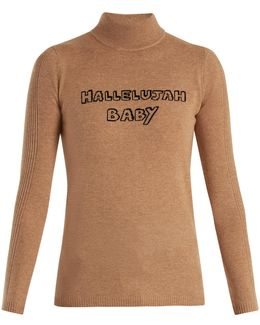 Hallelujah Baby Wool And Cashmere-blend Sweater