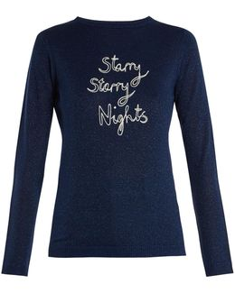 Starry Starry Nights Wool-blend Sweater