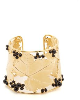 Vitis Gold-plated Cuff