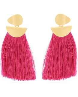 Crater Tassel Earrings