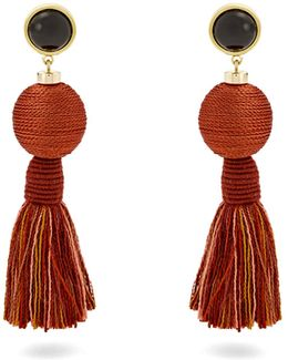 Modern Craft Tassel Earrings