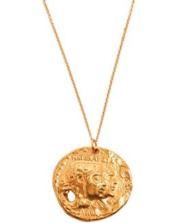 The Other Side Of The World Gold-plated Necklace