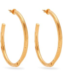 No Lie Gold-plated Earrings