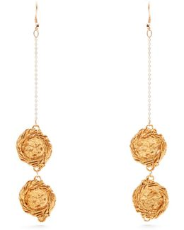 Night By Night Gold-plated Earrings