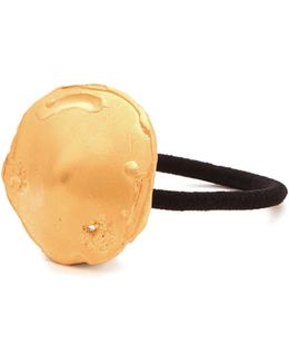 The Maestro Gold-plated Hair Tie