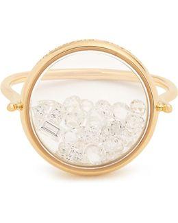 Diamond & Yellow-gold Ring