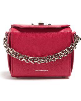 Box 16 Mini Grained-leather Shoulder Bag