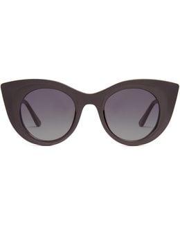 Hedony Cat-eye Acetate Sunglasses