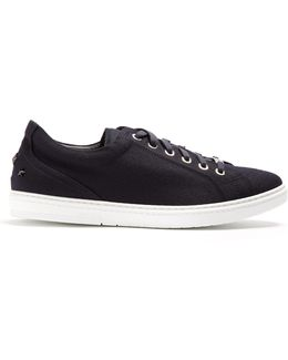 Cash Low-top Flannel-wool Trainers