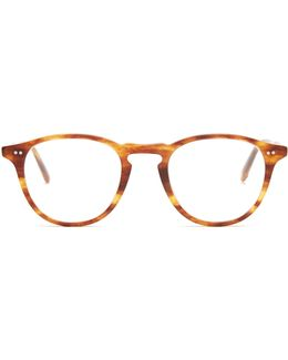 Hampton 46 Round-frame Glasses