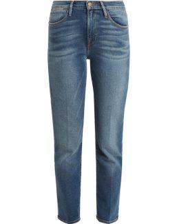 Le High Straight-leg Jeans