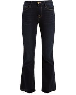 Le Crop Flared Jeans