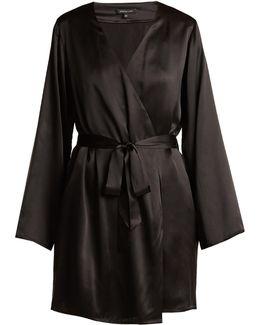 Langley Silk Robe