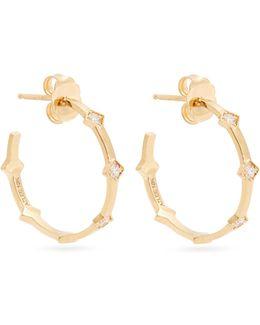 Illuminate Diamond & Yellow-gold Earrings