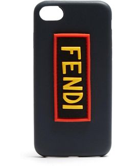 Logo-patch Leather Iphone® 7 Case