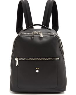 Micro Bag Bugs Leather Backpack
