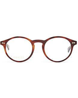 Round-frame Acetate Glasses