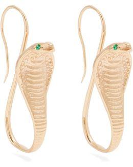 Emerald & Yellow-gold Earrings