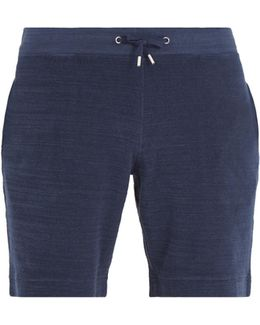 Afador Terry-towelling Cotton Shorts