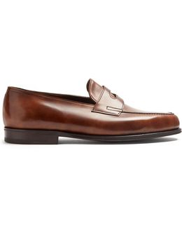Lopez Leather Penny Loafer