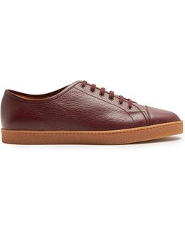 Levah Low-top Leather Trainers
