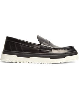 Point Break Leather Loafers